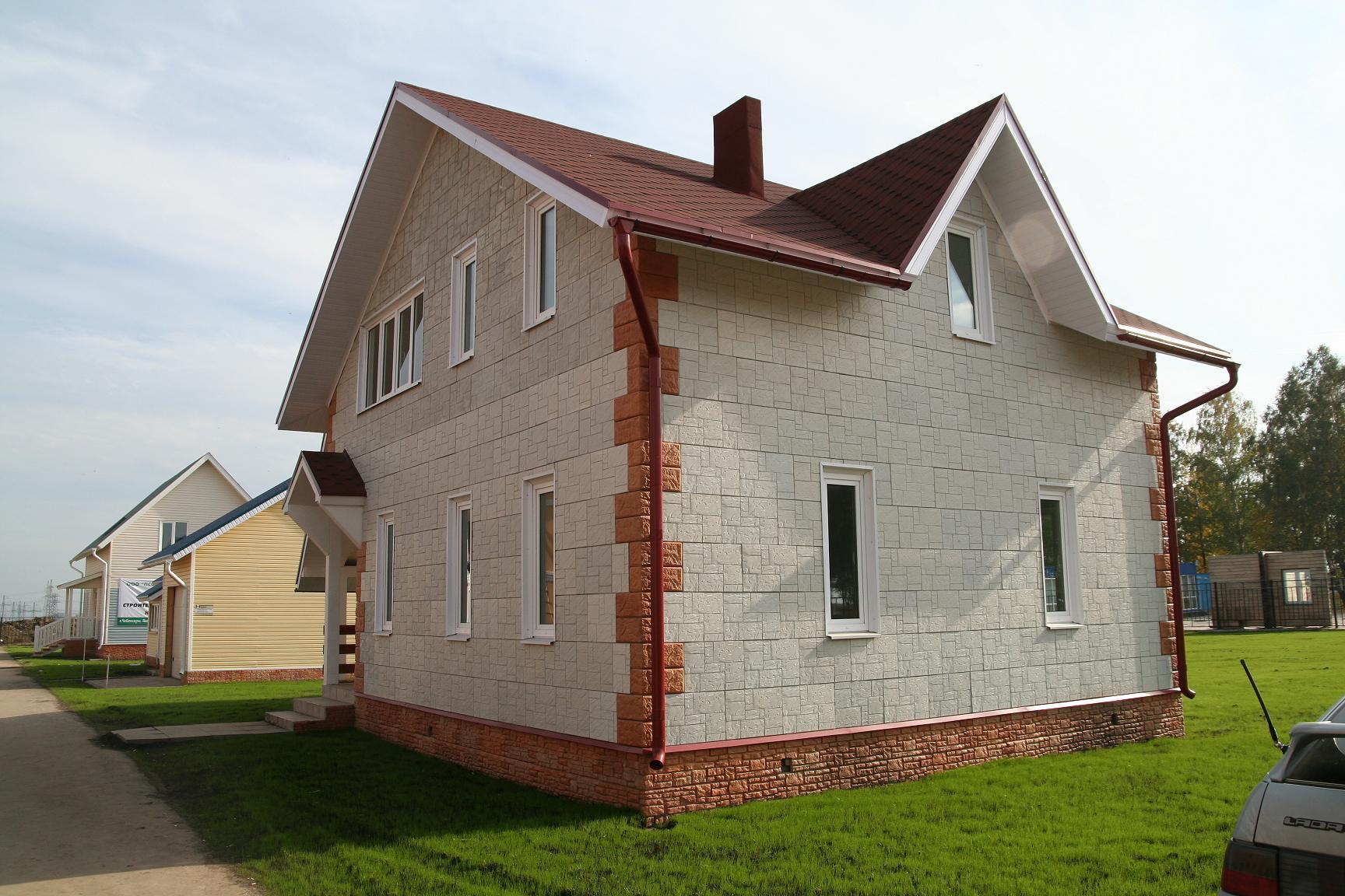 Готовые дома под ключ фото